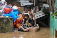 INDONESIA-WEATHER-FLOOD
