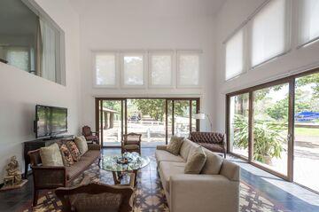 Una sala de estar.