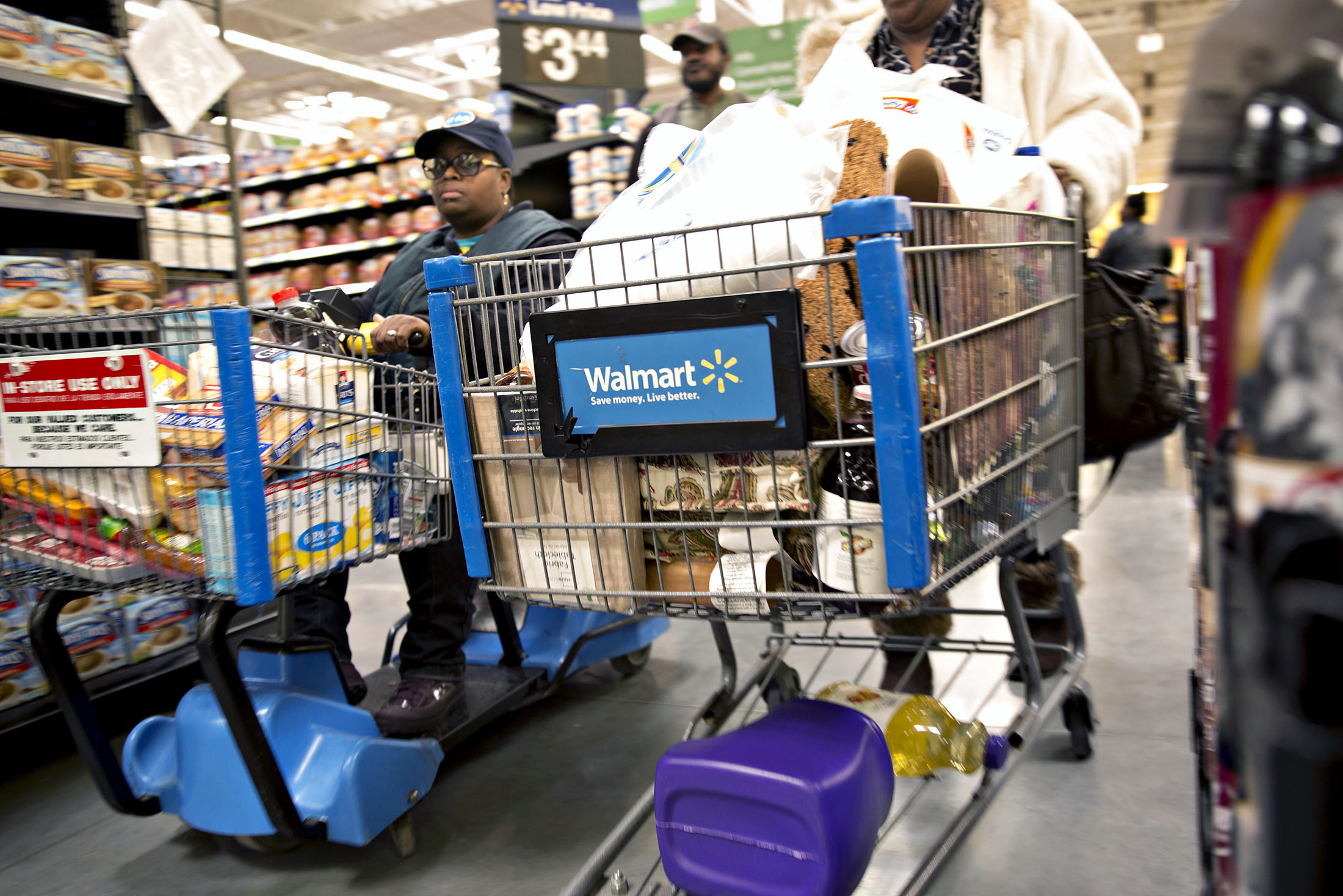 Wal-Mart Experimenting With Robotic Shopping Cart for Stores ...