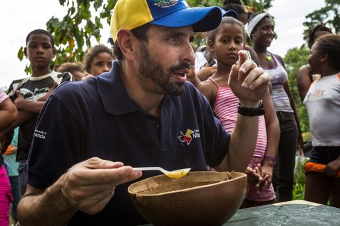 Venezuelan Opposition Governor Henrique Capriles