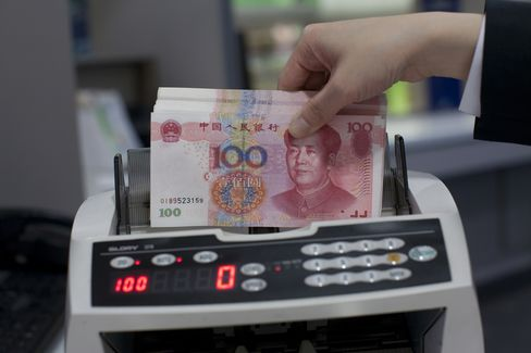 Yuan Climbs to Strongest Level Since 1993 on China Stimulus Bets