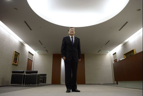 Mitsubishi Heavy Industries CEO Shunichi Miyanaga