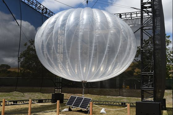 Alphabet ShutsLoon Project to Beam Internet From High-Altitude Balloons
