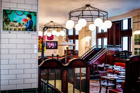 Ceviche is housed in an historic building that was commissioned in 1898 as a place for the working class of East London to gather and eat in comfort.