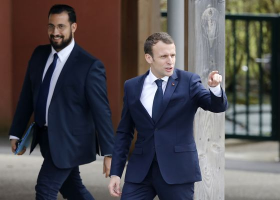 Macron Aims to Contain Damage From French Bodyguard Controversy