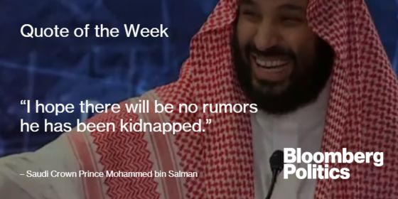 Saudis Under Scrutiny, Migrants on Move, Midterms: Weekend Reads