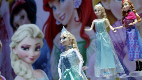 Frozen Dolls by Mattel