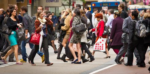 Australia Consumer Confidence Rises to 5-Month High on Rate Cuts