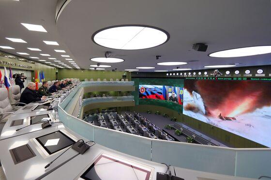 Putin Says Latest Test of Hypersonic Warhead Successful