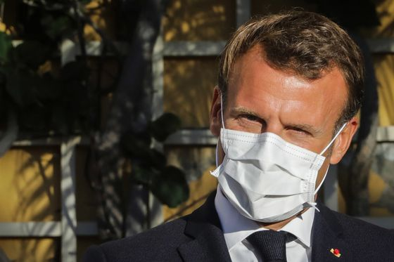 Macron Warns Against Pandemic-Caused Deflation in Nod to ECB