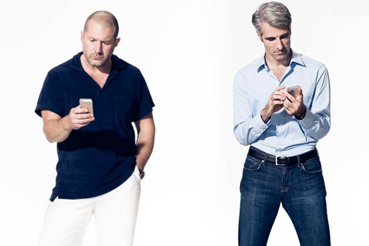 Apple's Jonathan Ive and Craig Federighi: The Complete Interview - Bloomberg