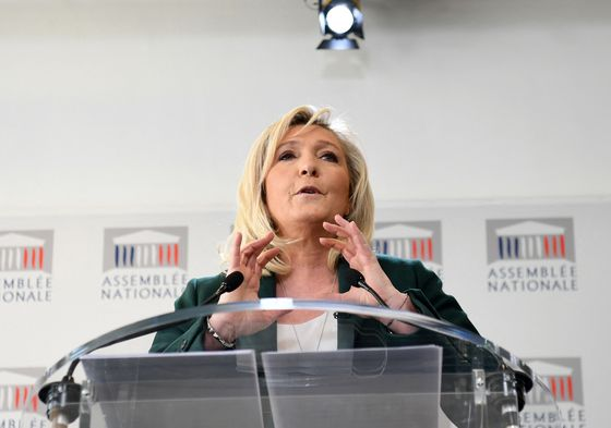 Marine Le Pen Reckons She'll Be President of France Next Year