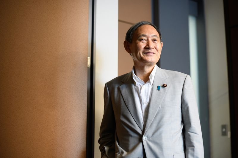 Japan Chief Cabinet Secretary Yoshihide Suga Interview