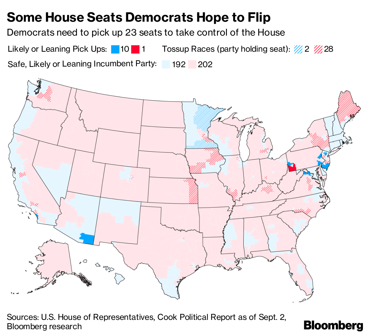 Is Blue Wave Coming? GOP Braces For Democrat Surge in Midterms ...