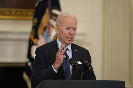 Biden Sets Goal of Shots for 70% of U.S. Adults by July 4