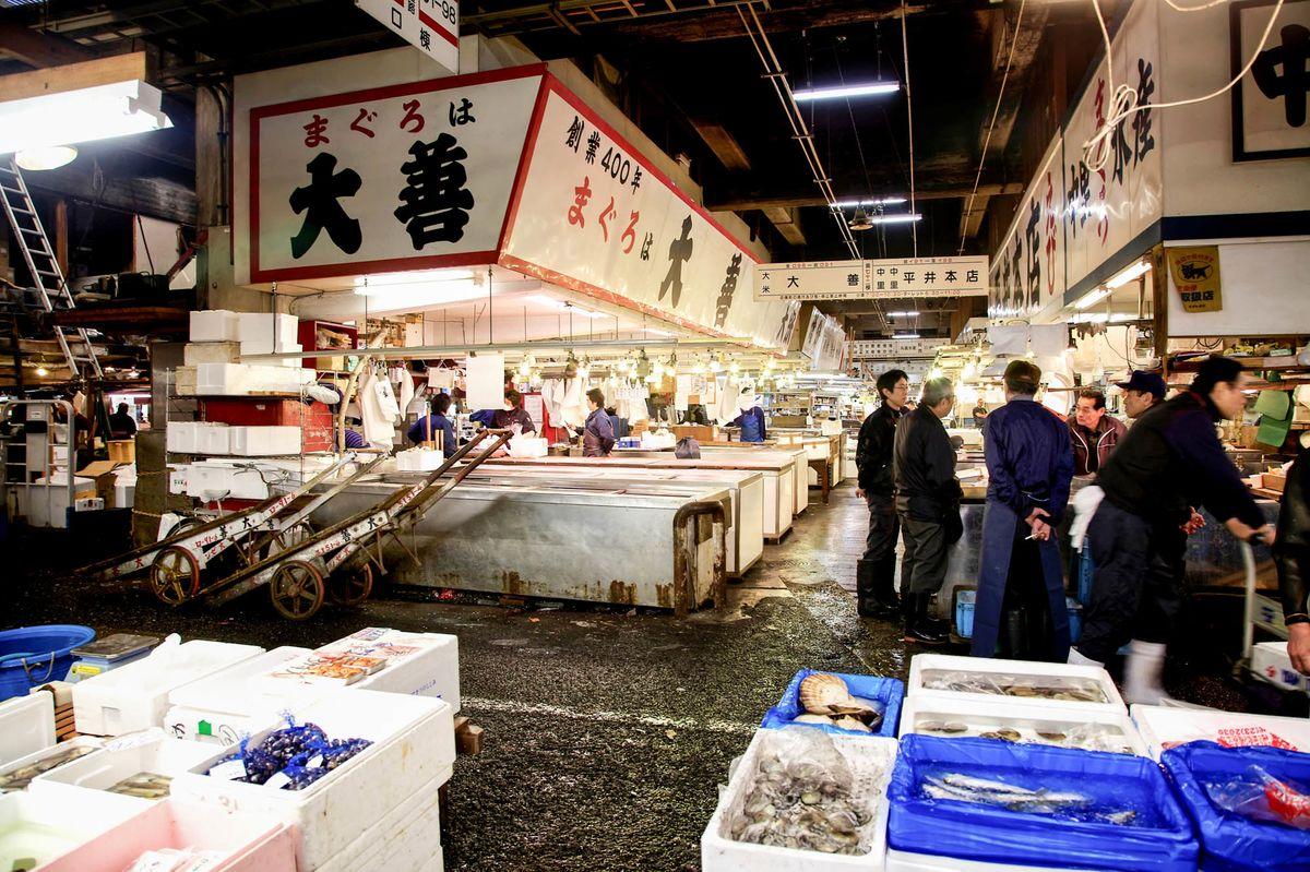 Image result for tsukiji