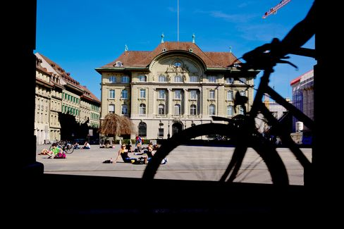 The Swiss National Bank in Zurich.