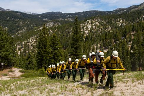 The Rifle Peak Handcrew is sponsored by the North Lake Tahoe Fire District. It'sone of only a few municipal fire departments in the country with both a wildland fire and fuels reduction program.