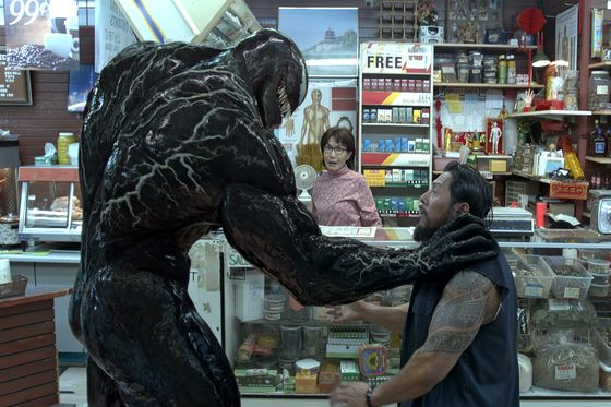 `Venom' Wins Box Office Again, Boosting Sony Superhero Strategy