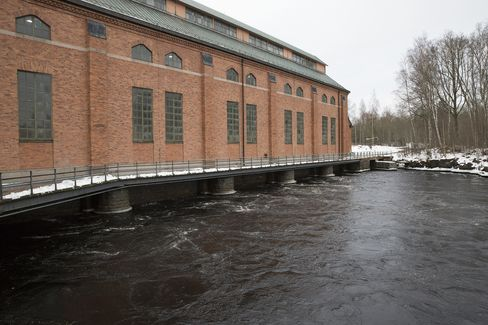 Fortum's Ultra hydroelectric power station