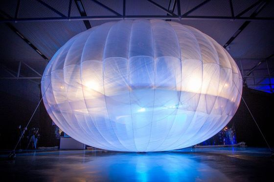 Google's Solution for African Internet: Balloons