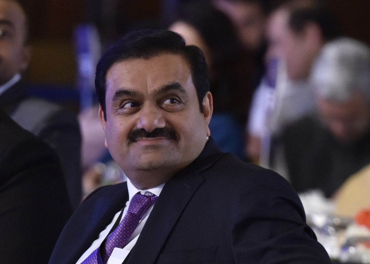 Adani Group Stocks Drop on Report Some Investor Accounts Frozen