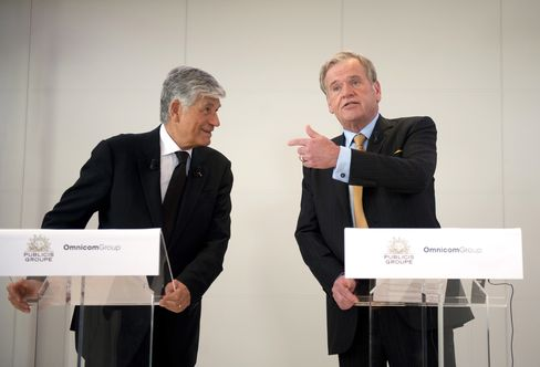 Maurice Levy and John Wren