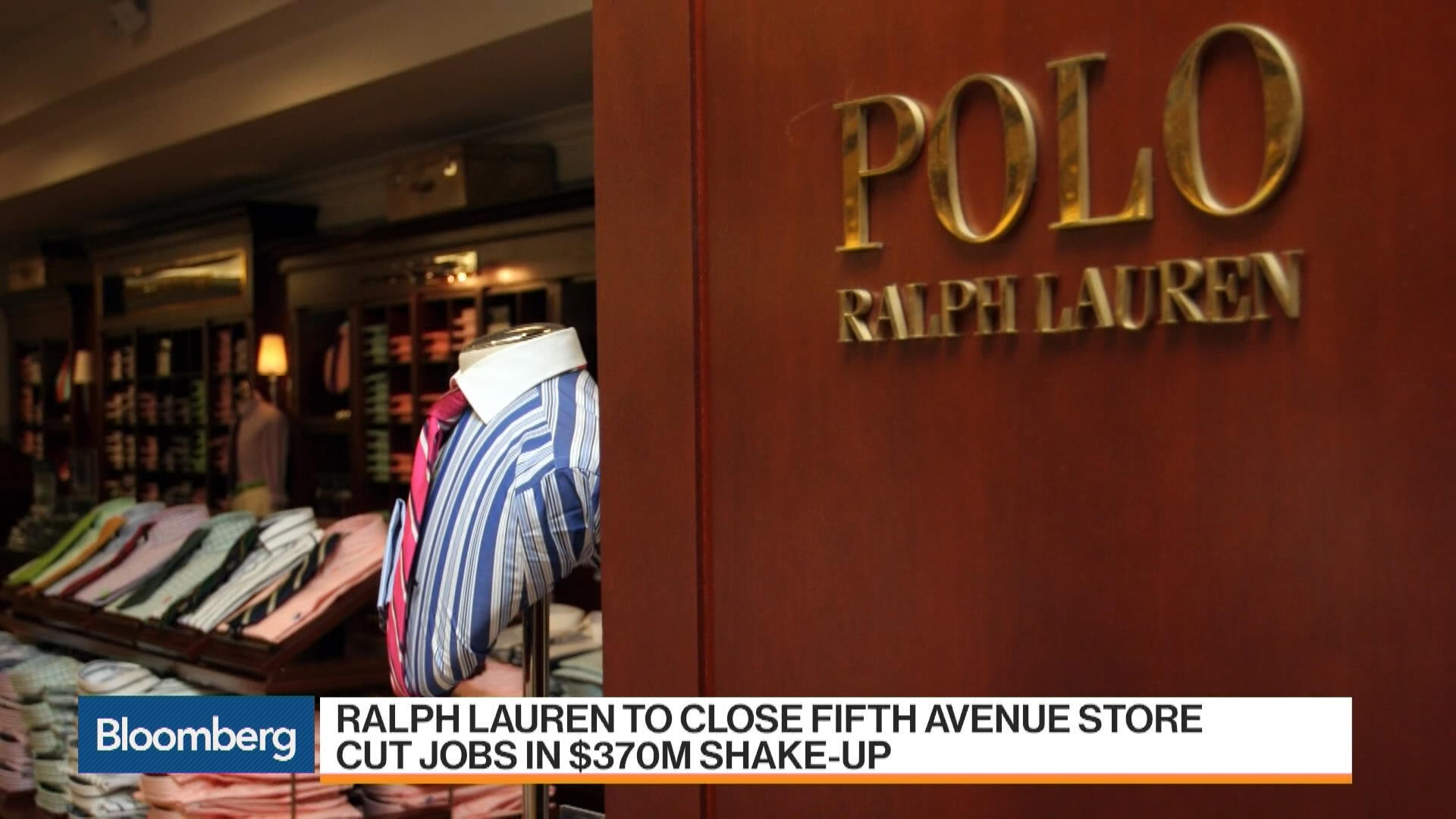 classic style the cheapest pretty cheap Ralph Lauren to Close Flagship Fifth Avenue Store, Cut Jobs ...