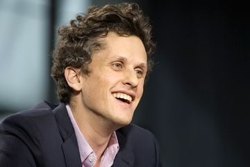Aaron Levie, co-founder and chief executive officer of Box(Photograph by David Paul Morris/Bloomberg)