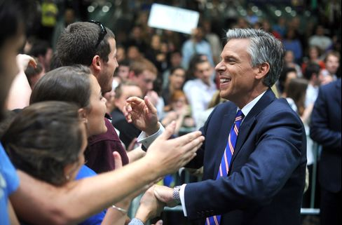 Huntsman Banks on Contrarian New Hampshire to Boost Lagging