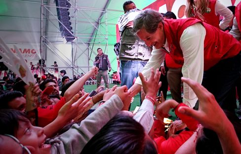 Residents Of Mexico State Vote For A New Governor
