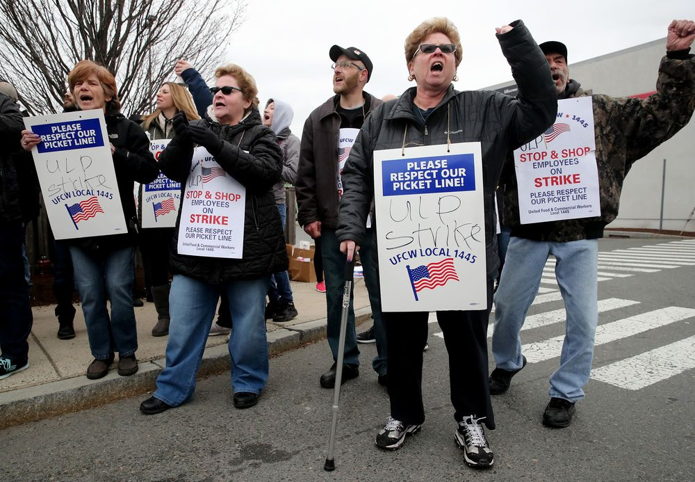 Stop & Shop Strike Hinders Ahold Delhaize's U S  Turnaround