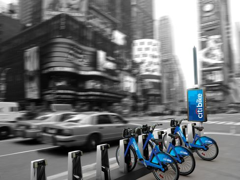 NYC to Roll Out Bicycle Sharing