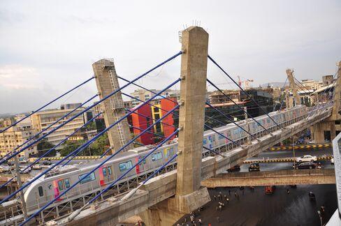 The New Metro One Line In Mumbai