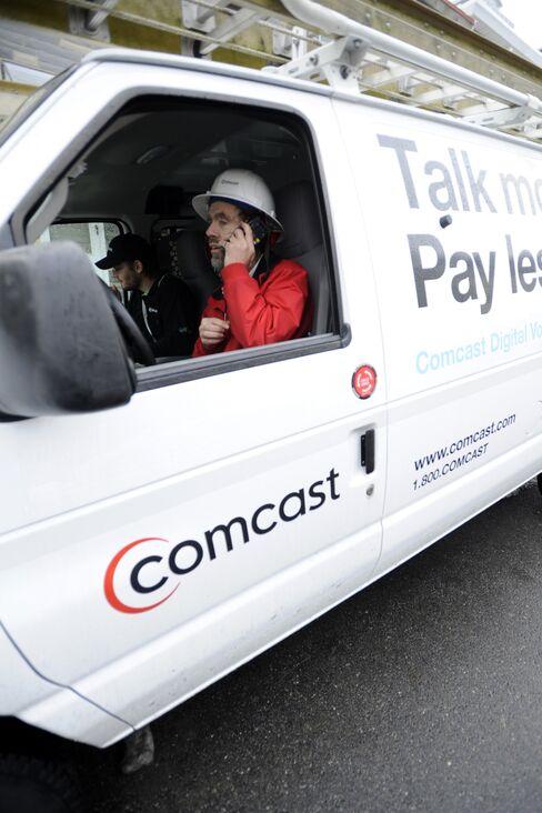 Comcast Profit, Sales Exceed Estimates on Broadband Additions