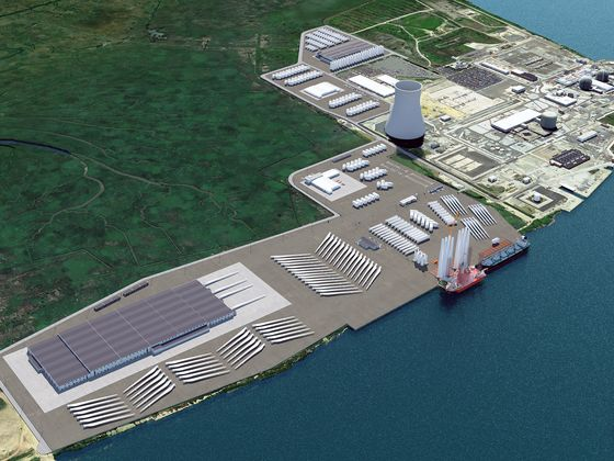 New Jersey Plans Huge Port to Develop Offshore Wind Power