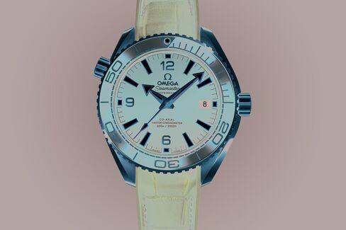 Omega Seamaster Planet Ocean 600m Master Chronometer 39.5mm Sedna Gold.