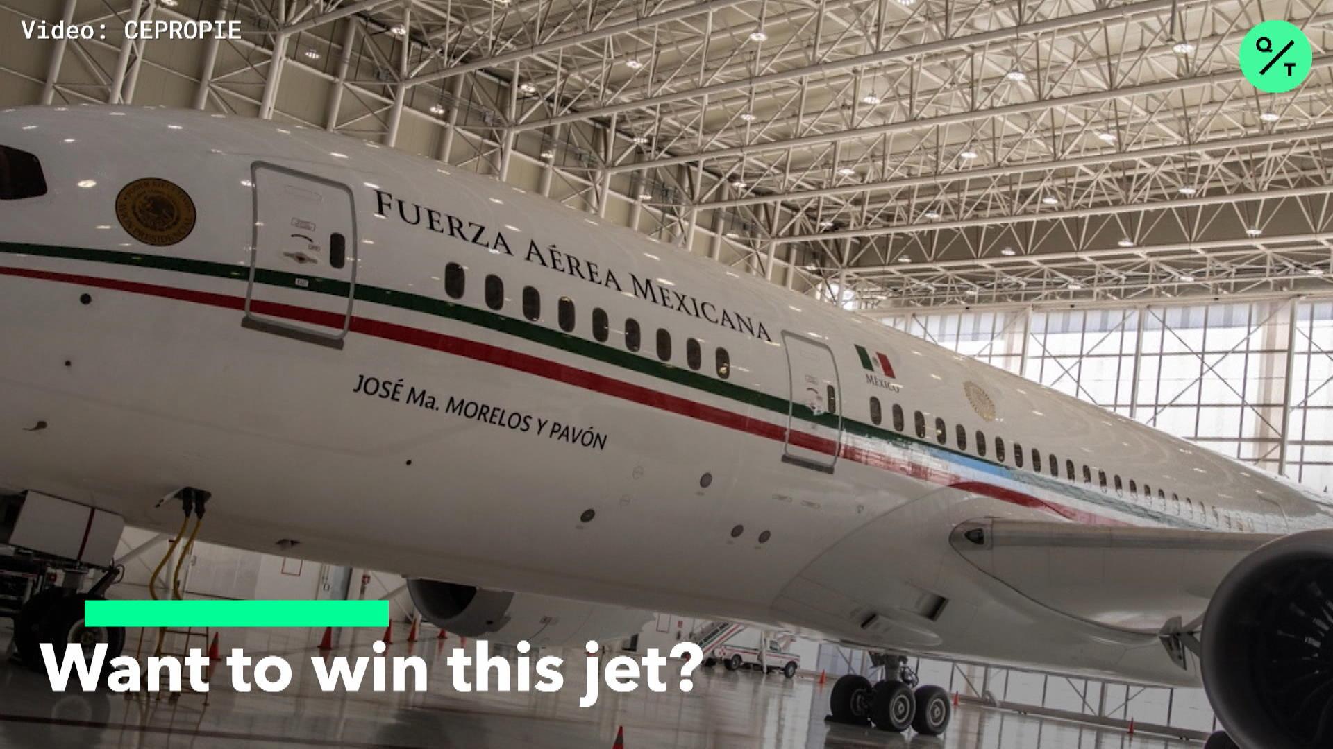 AMLO Wants To Raffle Jet