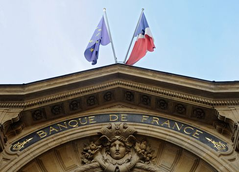The Banque de France in Paris.