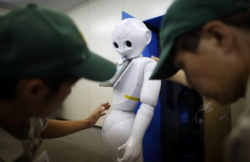 SoftBank's Pepper Robot Unboxed