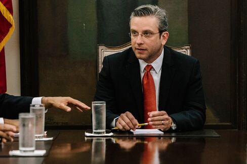 Alejandro Garcia Padilla, governor of Puerto Rico.