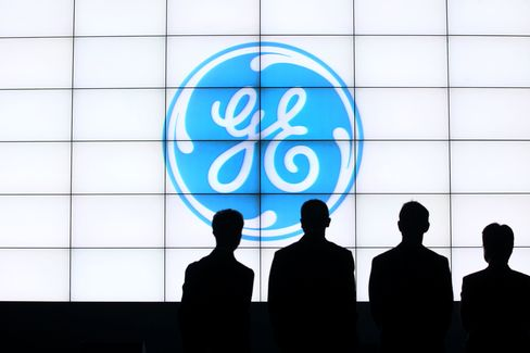 The General Electric Co. (GE) Logo