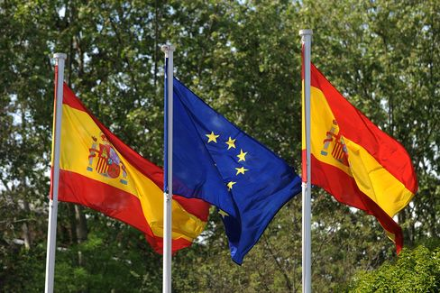 Spain Placed on Downgrade Review by Moody's