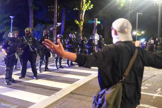 Portland Protesters Sue Trump Over Beatings, Detentions