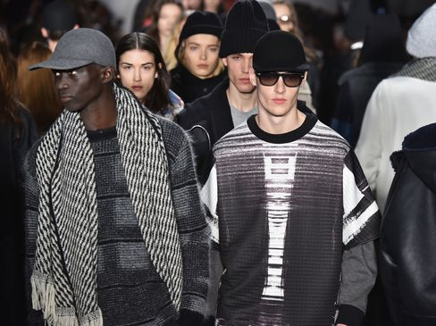 The Public School runway show during MADE Fashion Week on Feb. 15, 2015, in New York City. Public School is one of the brands showing during NYFW:Men's this summer.