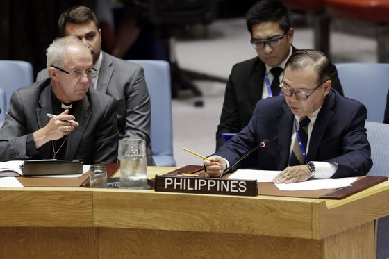 Duterte Taps His UN Envoy as Next Philippines' Foreign Secretary