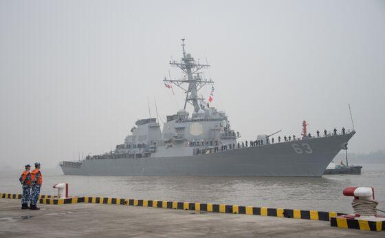 U.S. Warships Sail By Taiwan as Terry Gou Calls for High-Tech Defense