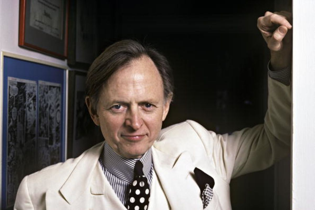 How Tom Wolfe Changed Magazines