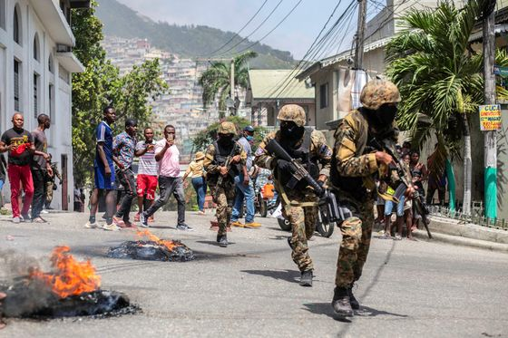 Ex-Colombian Troops Implicated in Murder of Haiti President