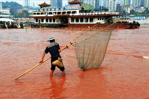 Why Is the Yangtze Running So Red?